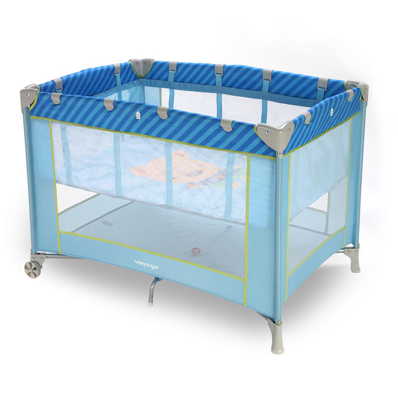 Berço Portátil Fit Voyage Azul Puppy