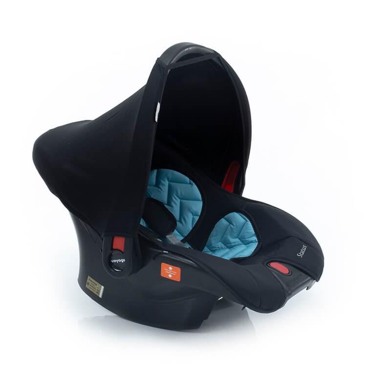 Bebê Conforto Voyage Azul e Preto