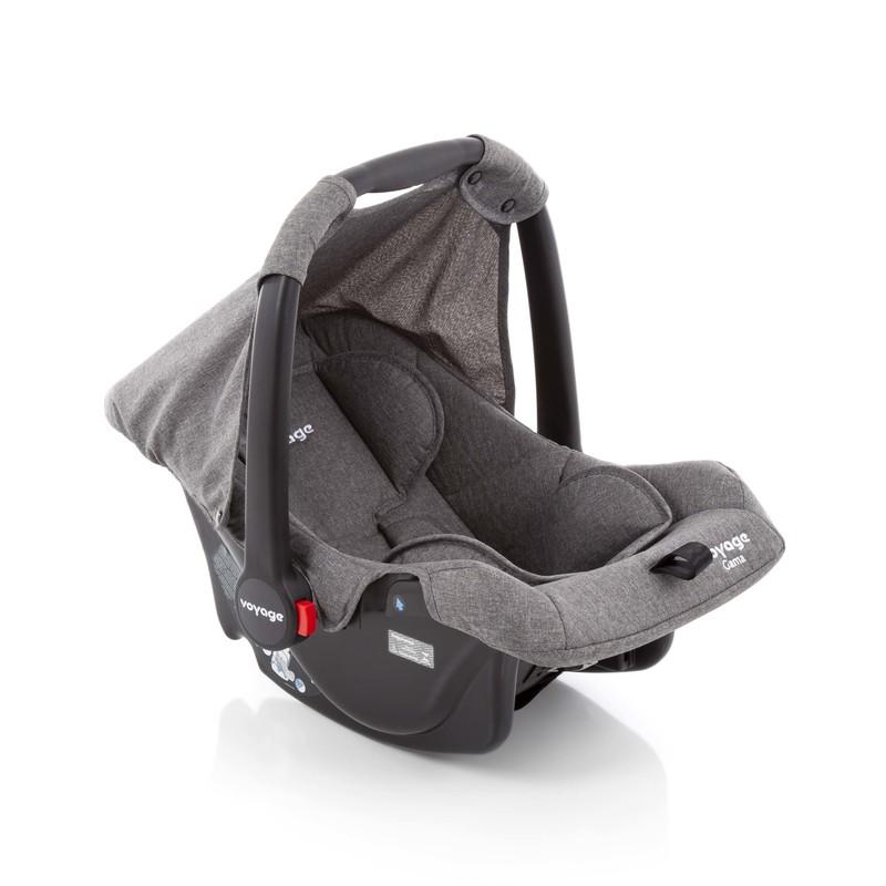 Bebê Conforto Gama Cinza Mescla