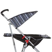 Carrinho Umbrella Slim Voyage Preto