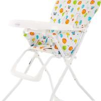 Cadeira de refeição Kitut Voyage Branco Zoo