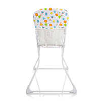 Cadeira de Refeição Nutri Voyage Branco Zoo